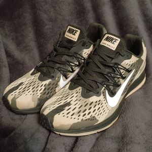 New Nike Zoom Winflo 5 Camo Sequoia Running Shoes